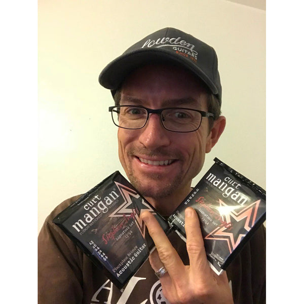 Stephen Inglis - Signature Guitar Strings Used On Recording
