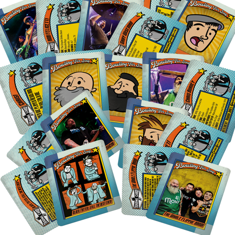 Bowling For Soup - Autographed Trading Card Pack