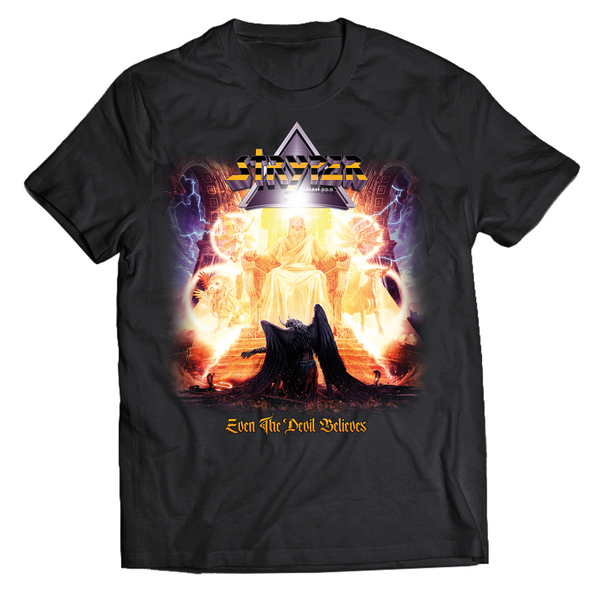 Stryper - Even The Devil Believes Album Tee