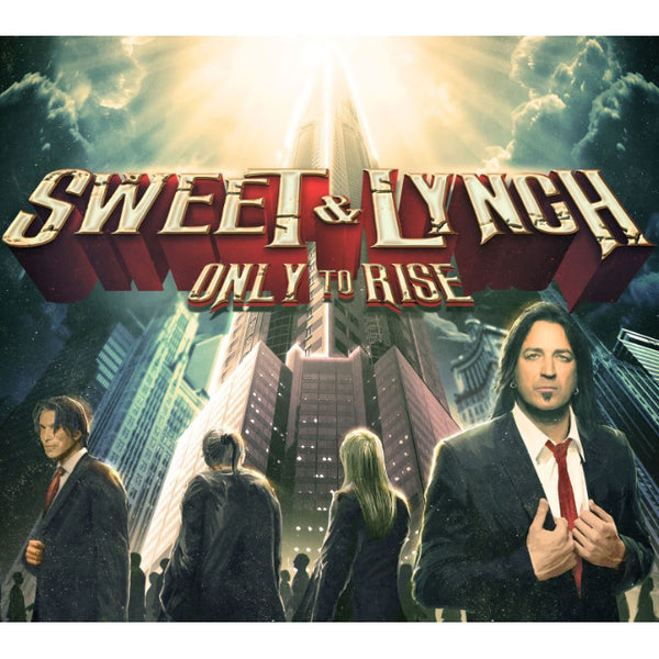 Sweet & Lynch - Only To Rise CD (PRESALE 07/17/20)