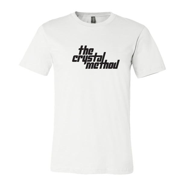 The Crystal Method - White Logo T-Shirt