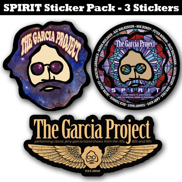 The Garcia Project - 3 Sticker Pack