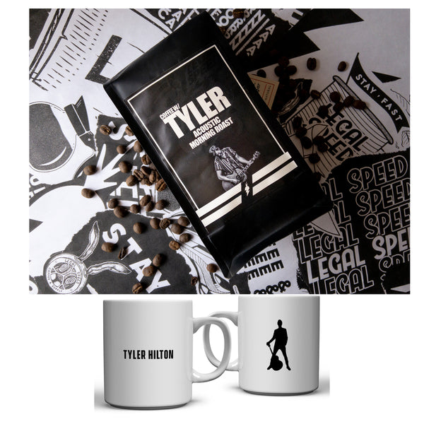 Tyler Hilton - Acoustic Morning Roast Coffee + Mug Bundle