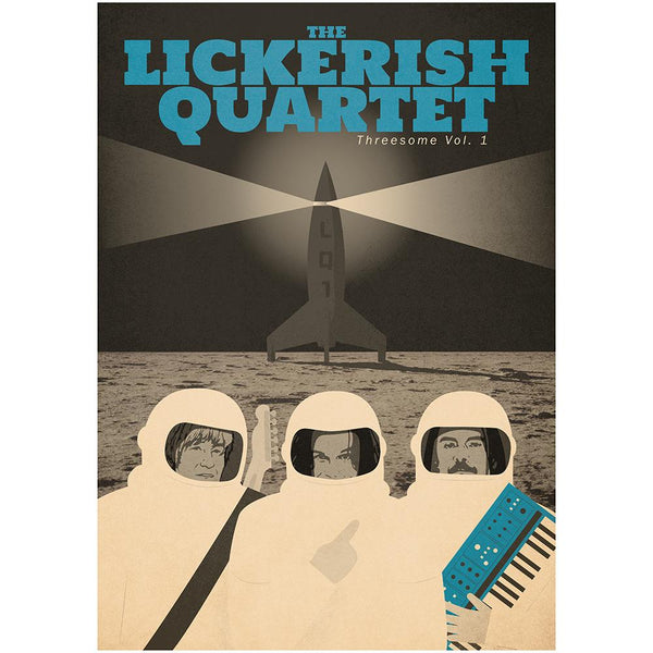 The Lickerish Quartet - Signed Spaceship Poster