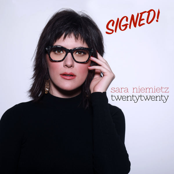 Sara Niemietz - TwentyTwenty Signed CD (PRESALE MAY 2020)
