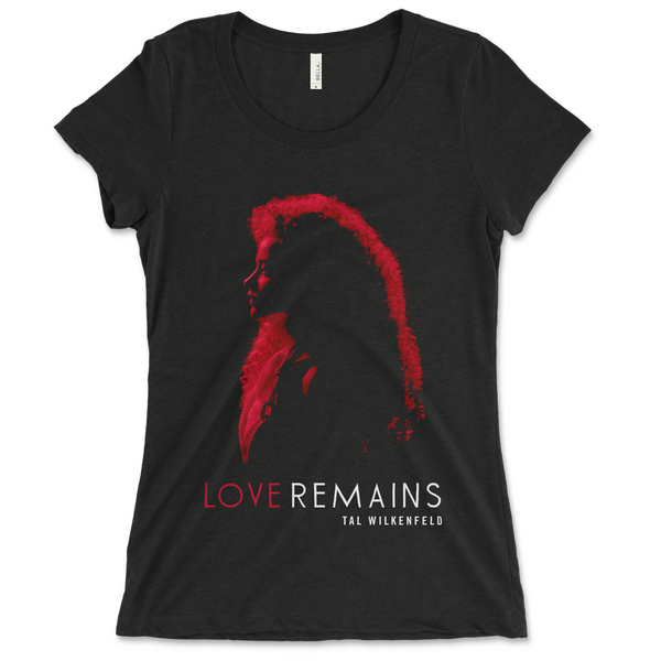 Tal Wilkenfeld - Red Silhouette Ladies Tee (PRESALE 12/07/20)