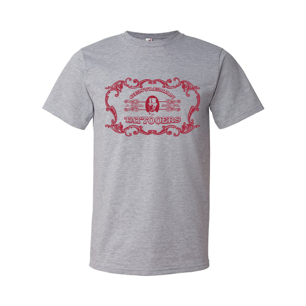 Tattoos On Lamar - Shop Shirt (Grey)