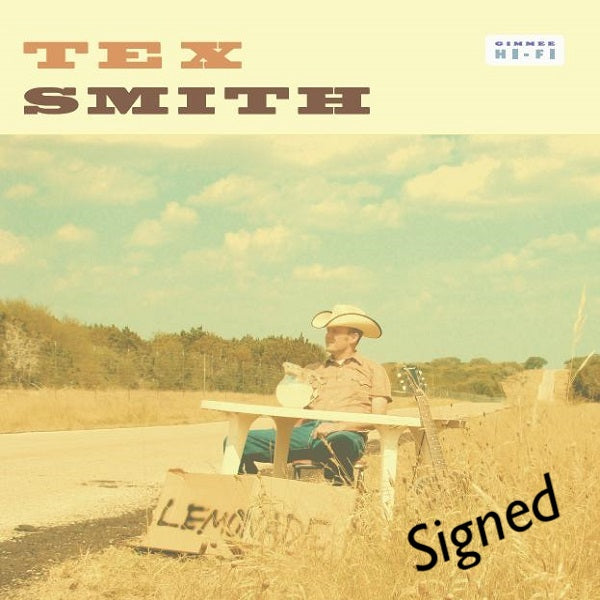 Tex Smith - Signed Self Titled CD