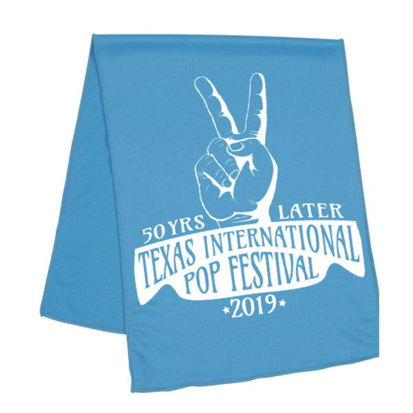 Texas International Pop Festival - Cooling Towel