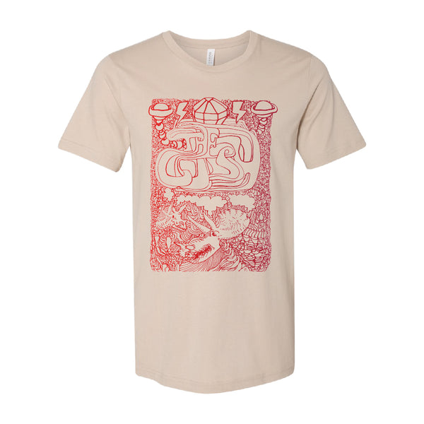 The Cush - New Fumes Tee (Tan)