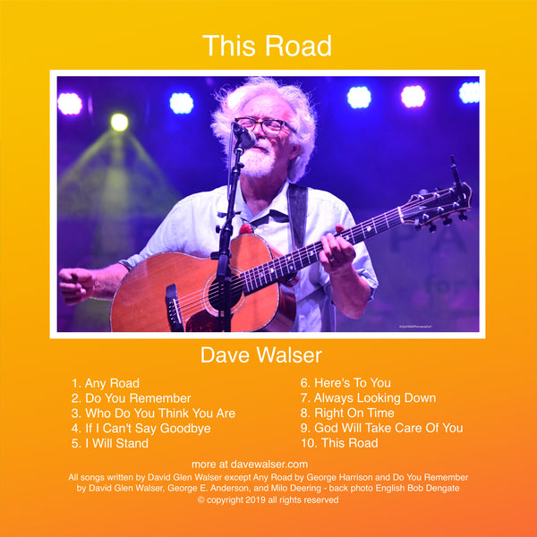 Dave Walser - This Road CD