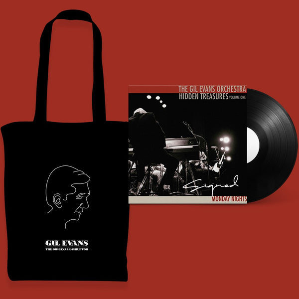 Gil Evans - Signed LP and Tote Bundle