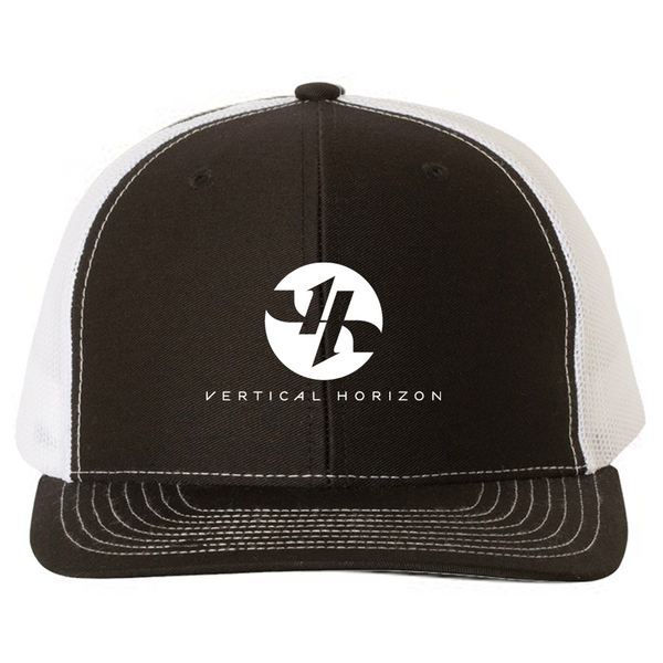 Vertical Horizon - Logo Trucker Hat (White Mesh)