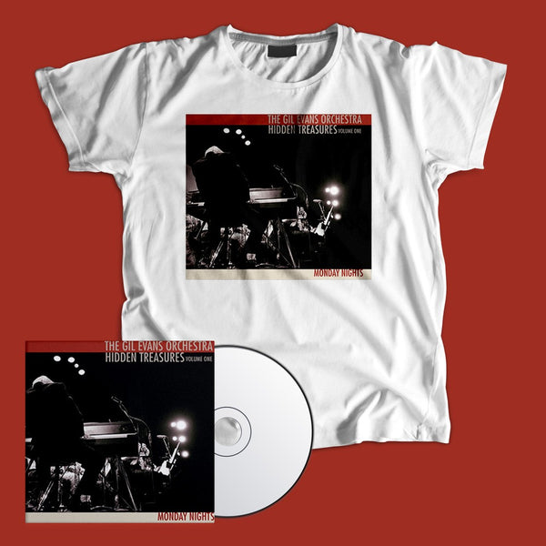 Gil Evans - T-shirt and CD Bundle