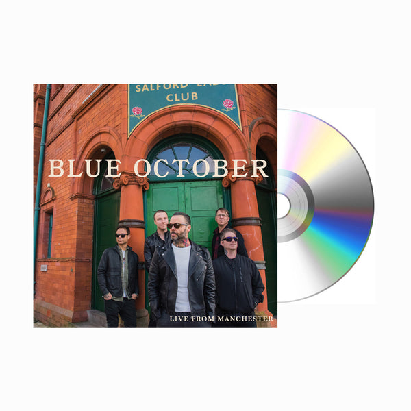 Blue October - Live From Manchester CD (PRESALE 11/29/19)