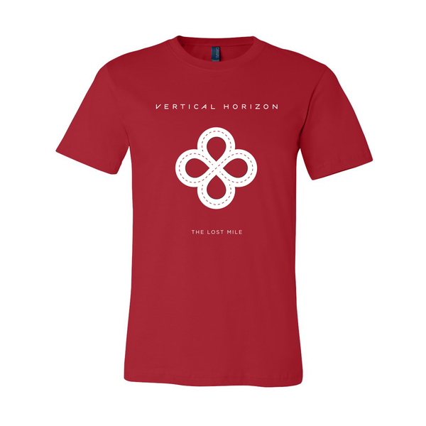 Vertical Horizon - The Lost Mile T-Shirt (Red)