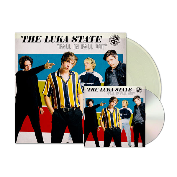 The Luka State - Fall In Fall Out CD and LP Bundle (PRESALE 09/25/20)