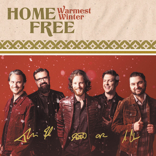 Home Free - Warmest Winter Autographed CD