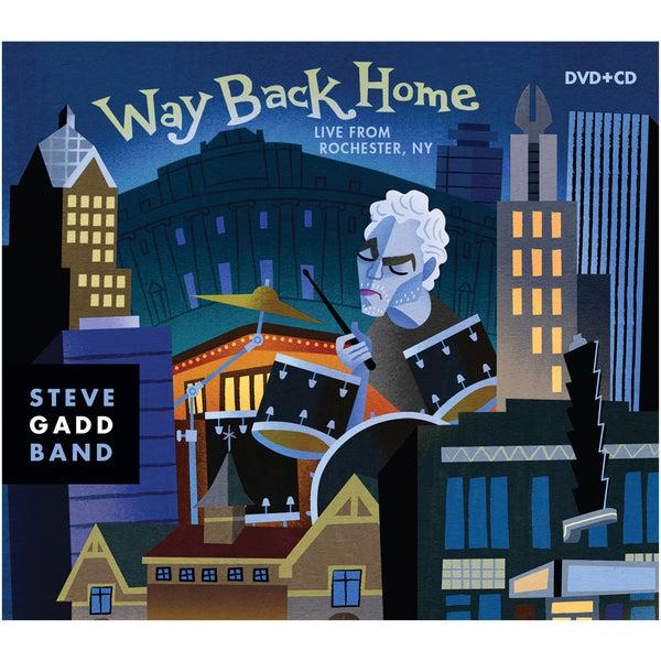 Steve Gadd Band - Way Back Home: Live From Rochester NY CD/DVD (2016)