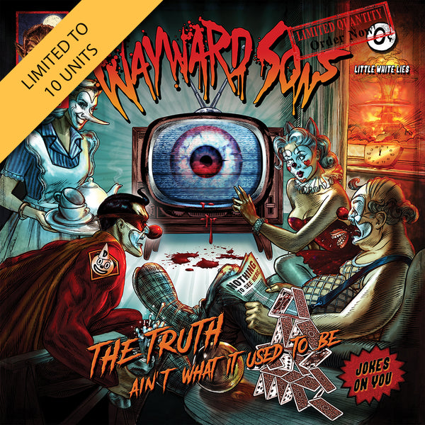 Wayward Sons - The Truth Ain't What It Used To Be Orange LP