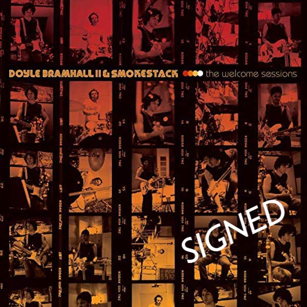 Doyle Bramhall II - Welcome Sessions Vinyl - Signed