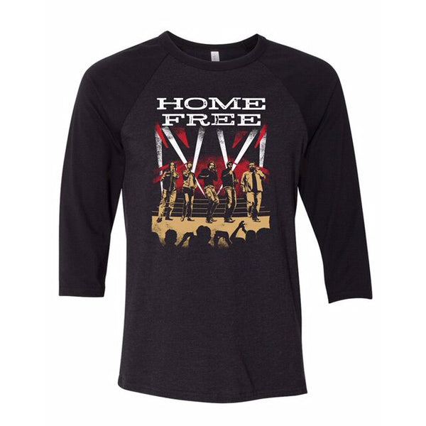 Home Free - Westworld Baseball Tee