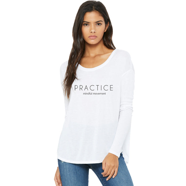 Body and Soul Movement - Practice Flowy Long Sleeve Tee
