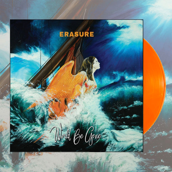 Erasure - World Be Gone Limited Edition Orange Vinyl