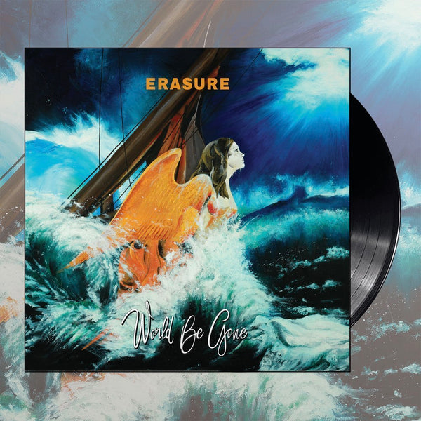Erasure - World Be Gone Black Vinyl