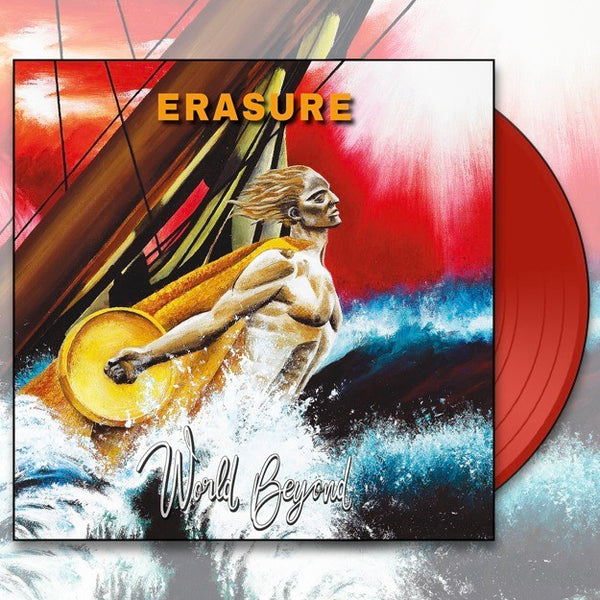 Erasure - World Beyond Limited Edition Red Vinyl