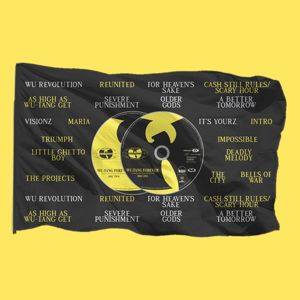 Wu Tang Clan - Spotify Exclusive Flag