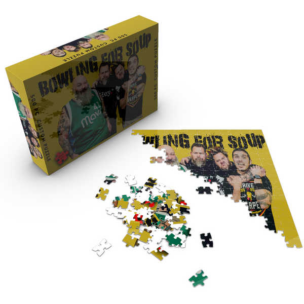 Bowling For Soup - Band Photo Puzzle