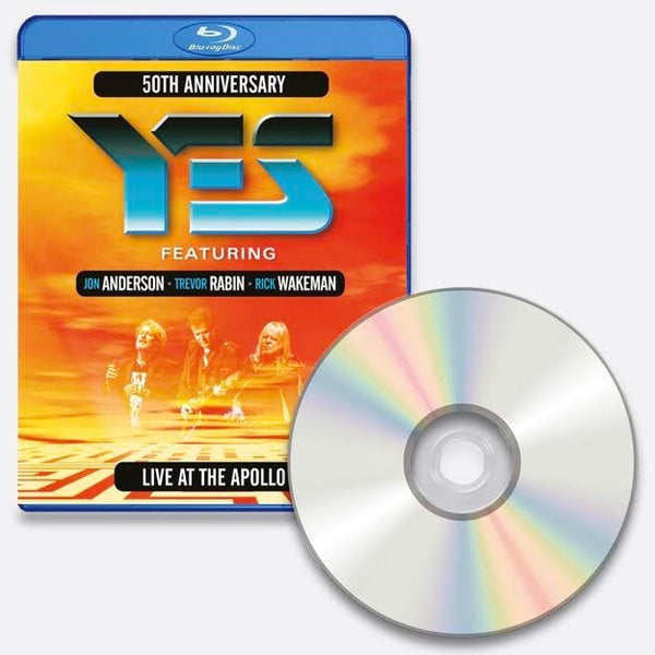Yes - Live at the Apollo Blu Ray