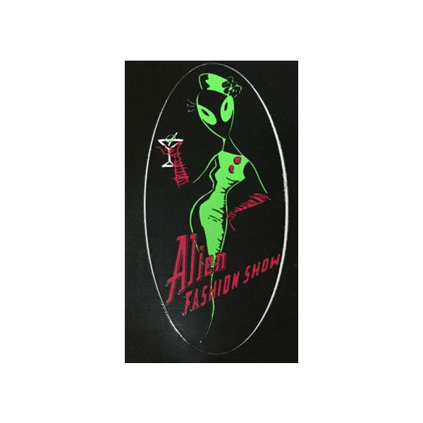 Alien Fashion Show - AFS Logo Sticker