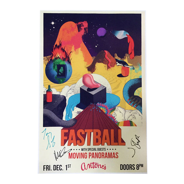 Fastball - Live at Antone's Autographed Poster