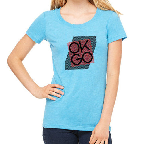OK Go - Aqua Ladies Tee