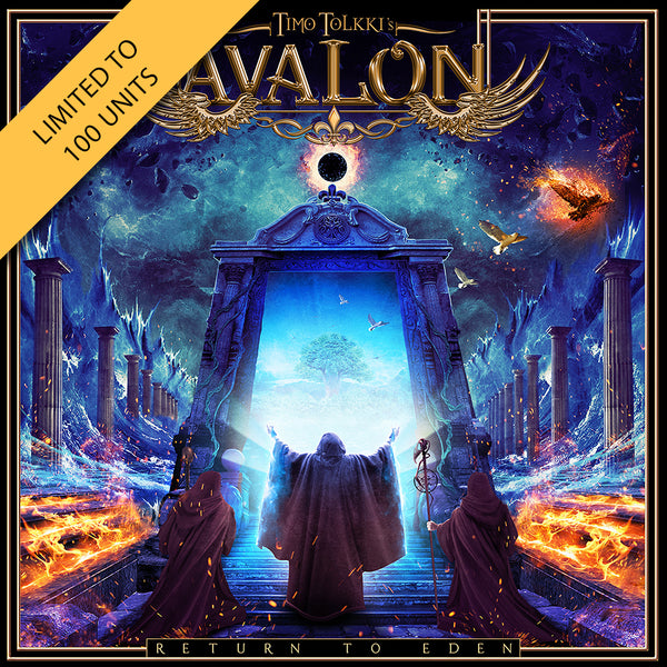 Timo Tolkki's Avalon - Return To Eden Signed CD