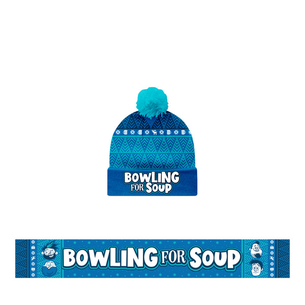 Bowling For Soup - Winter Beanie + Scarf Bundle (PRESALE 11/29/19)
