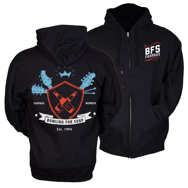 Bowling For Soup - Official 2018 Fan Page Hoodie (PRESALE 10/04/19)