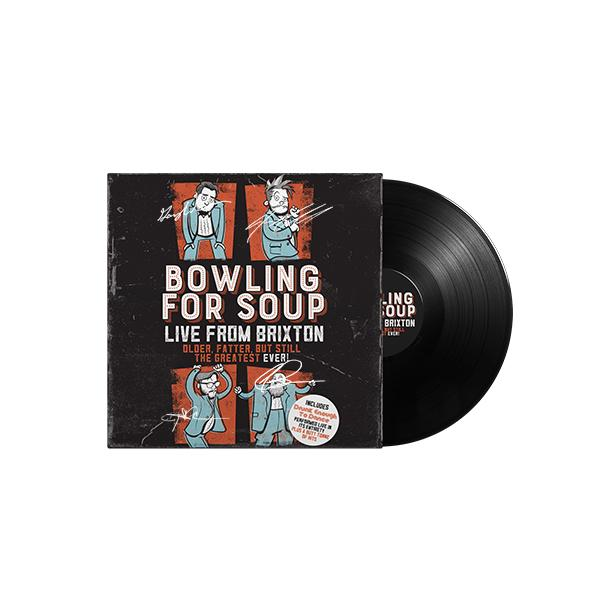 Bowling For Soup - Live From Brixton Vinyl (Autographed) (PRESALE)