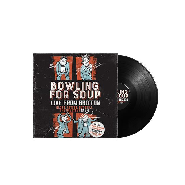 Bowling For Soup - Live From Brixton Vinyl (Autographed)