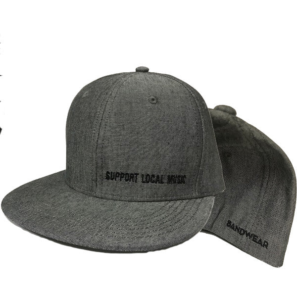 Support Local Music - Classic Snap-Back Hat