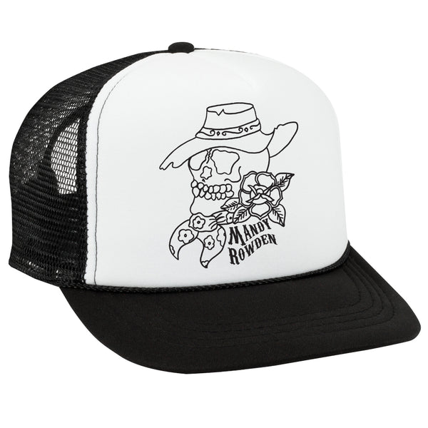 Mandy Rowden - Skull Trucker Hat