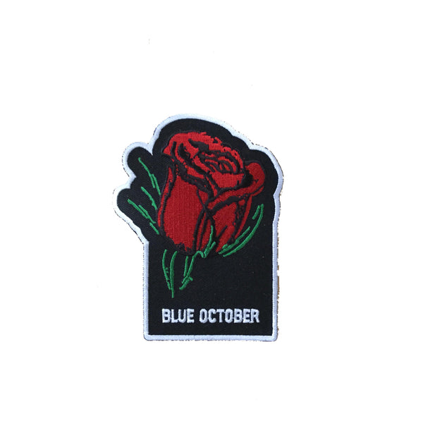 Blue October - Block Text Patch