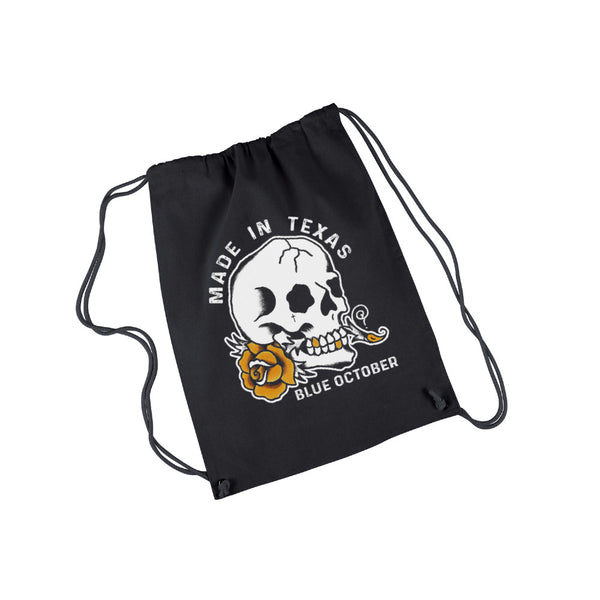 Blue October - Made In Texas Drawstring Bag