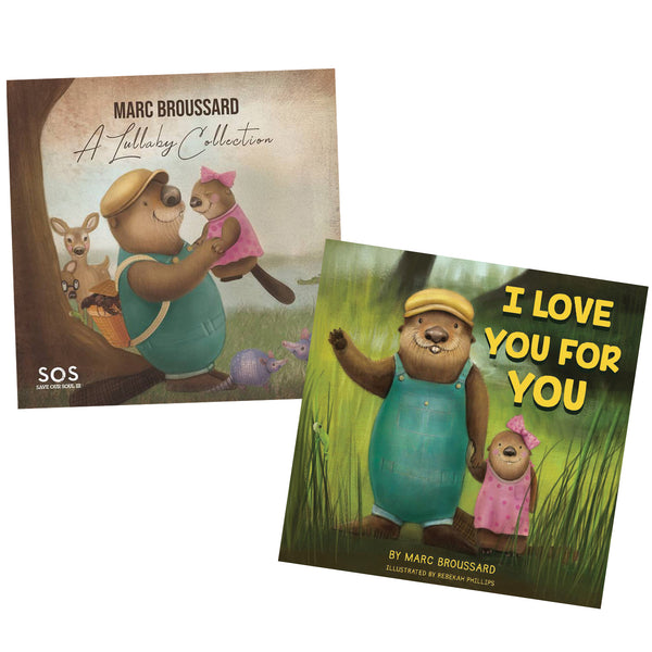 Marc Broussard - A Lullaby Collection CD + Signed Book Bundle (PRESALE 11/15/19)