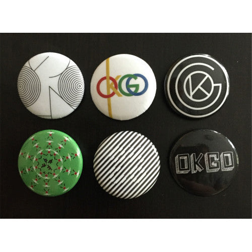 OK Go - Logo Button Pack