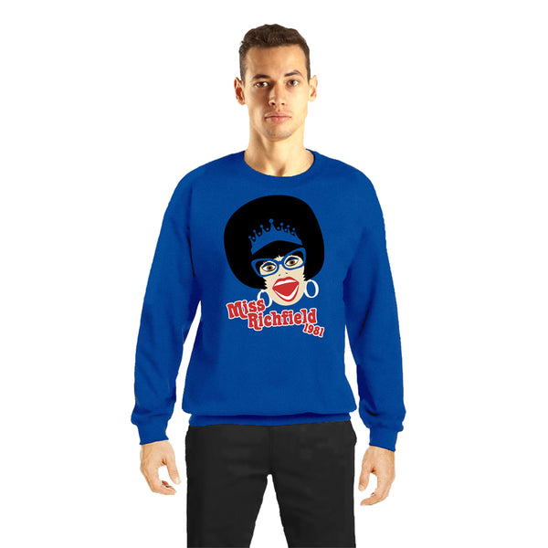Miss Richfield 1981 - Cartoon Sweatshirt