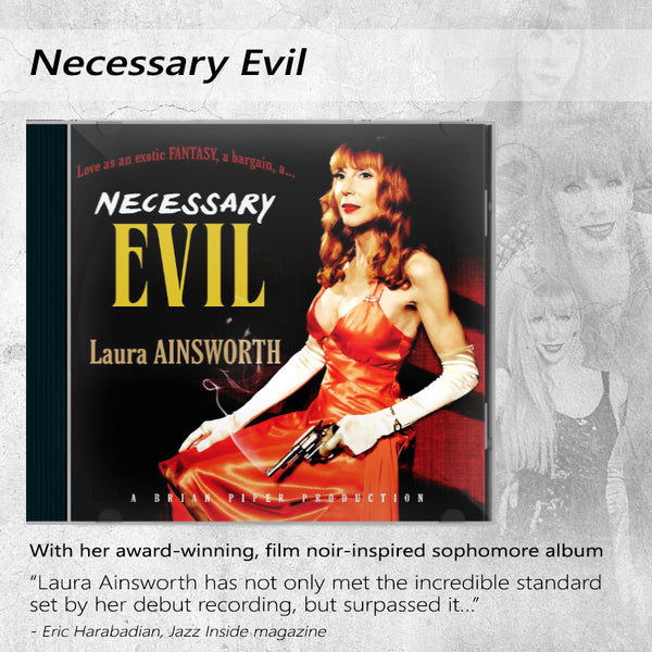 Laura Ainsworth - Necessary Evil CD