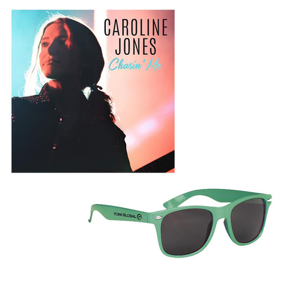 Caroline Jones - Chasin' Me Digital Download + Logo Sunglasses